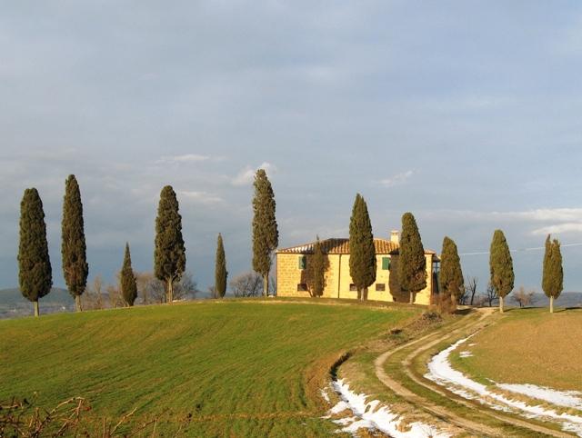 деревенский дом в Тоскане