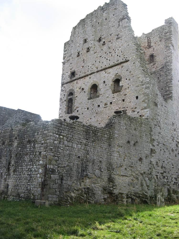 Крепость в Чивителле, точнее её остатки