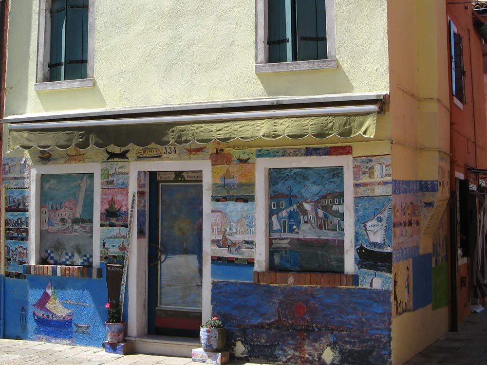 расписной дом в Бурано