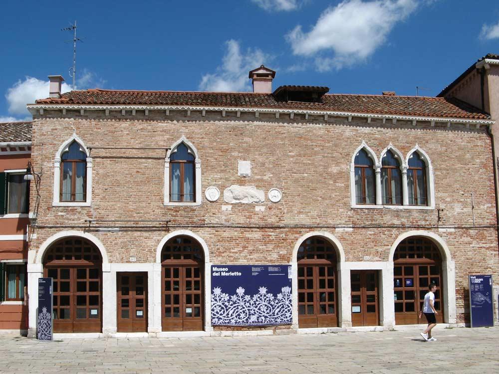 музей кружев на Бурано в Италии