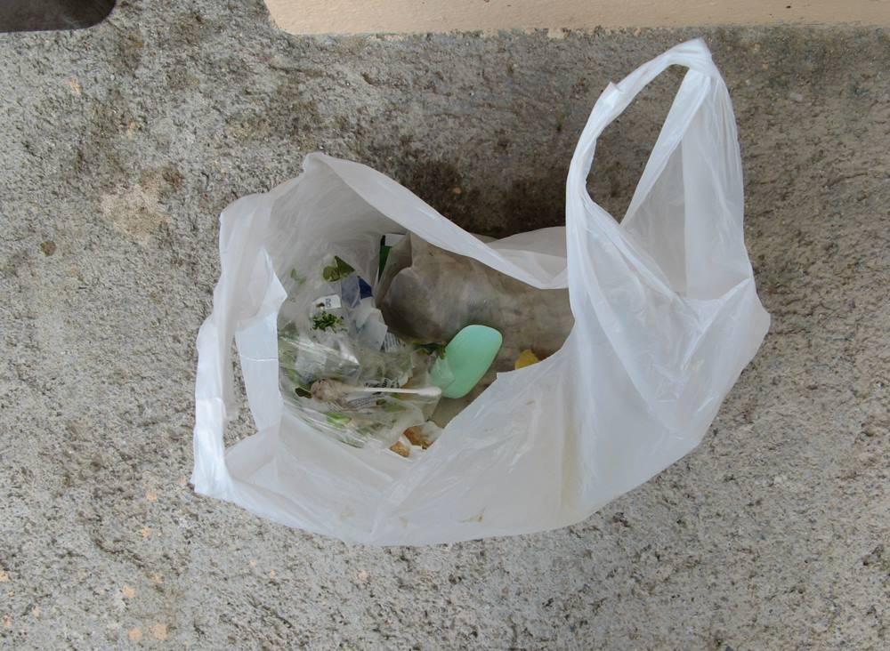 пакет для сбоа разногомастного мусора
