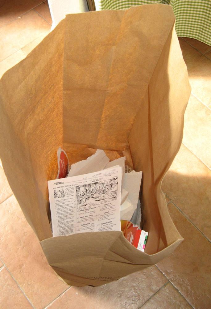 пакет для сбора бумаги