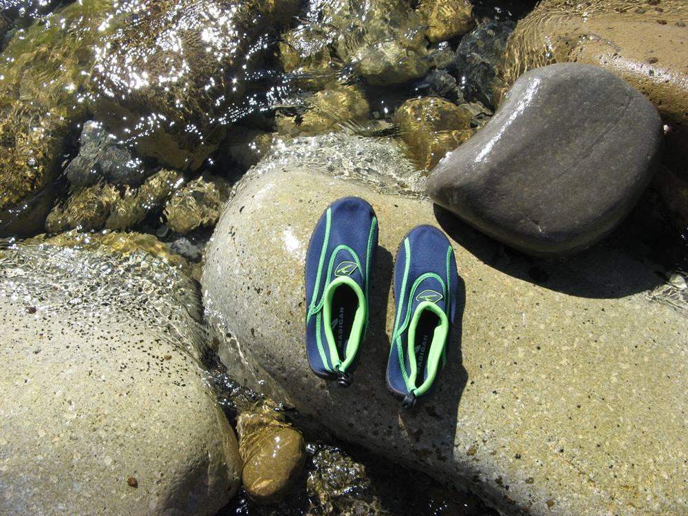 туфли для каменистого пляжа