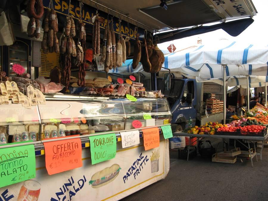 рыночный фургон для продажи продуктов