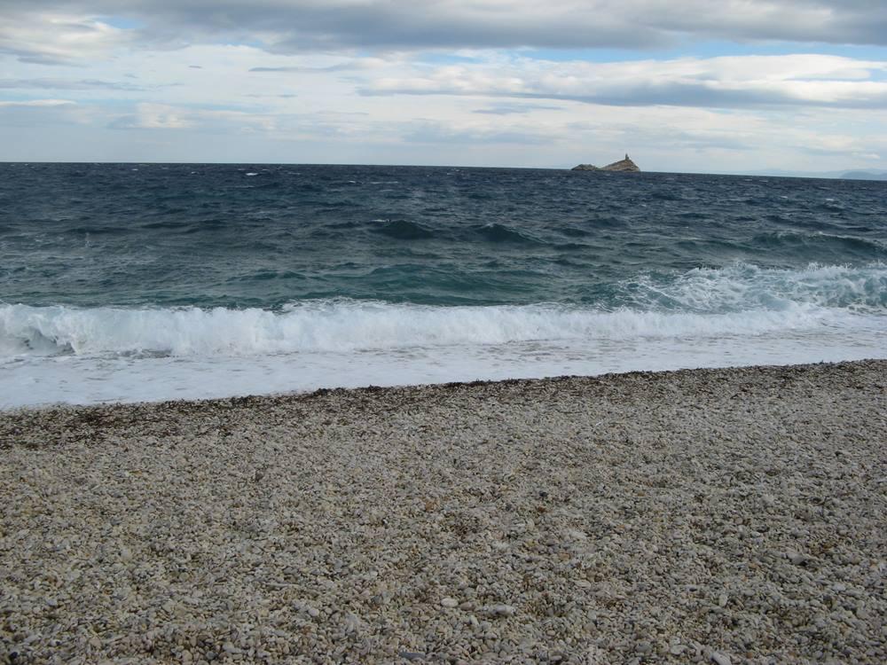 пляж Гиае в Портоверрайо на острове Эльба