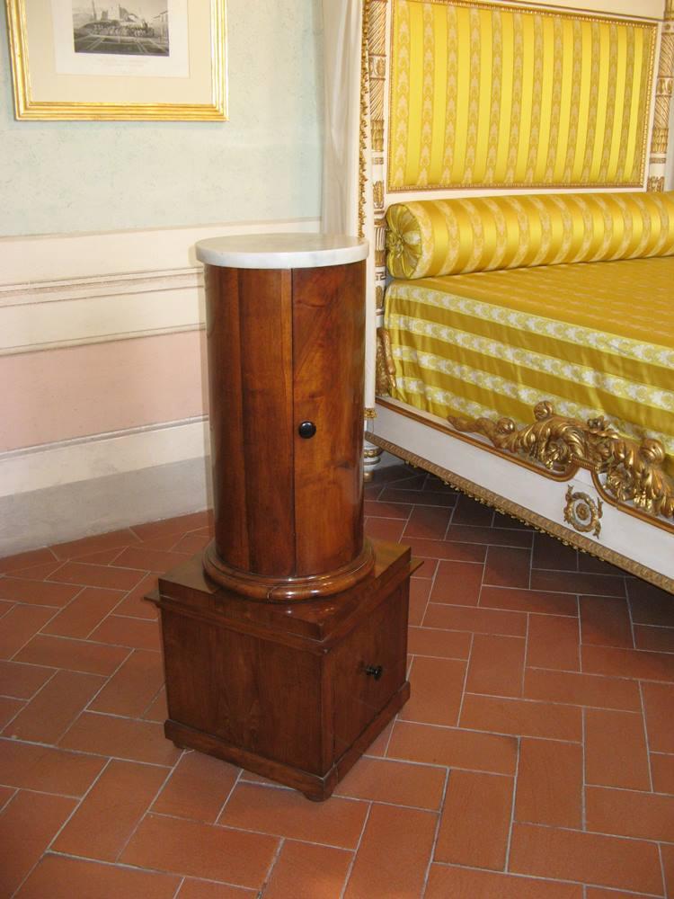Ночной горшок в спальне Паолины, сестры Наполеона Бонапарта
