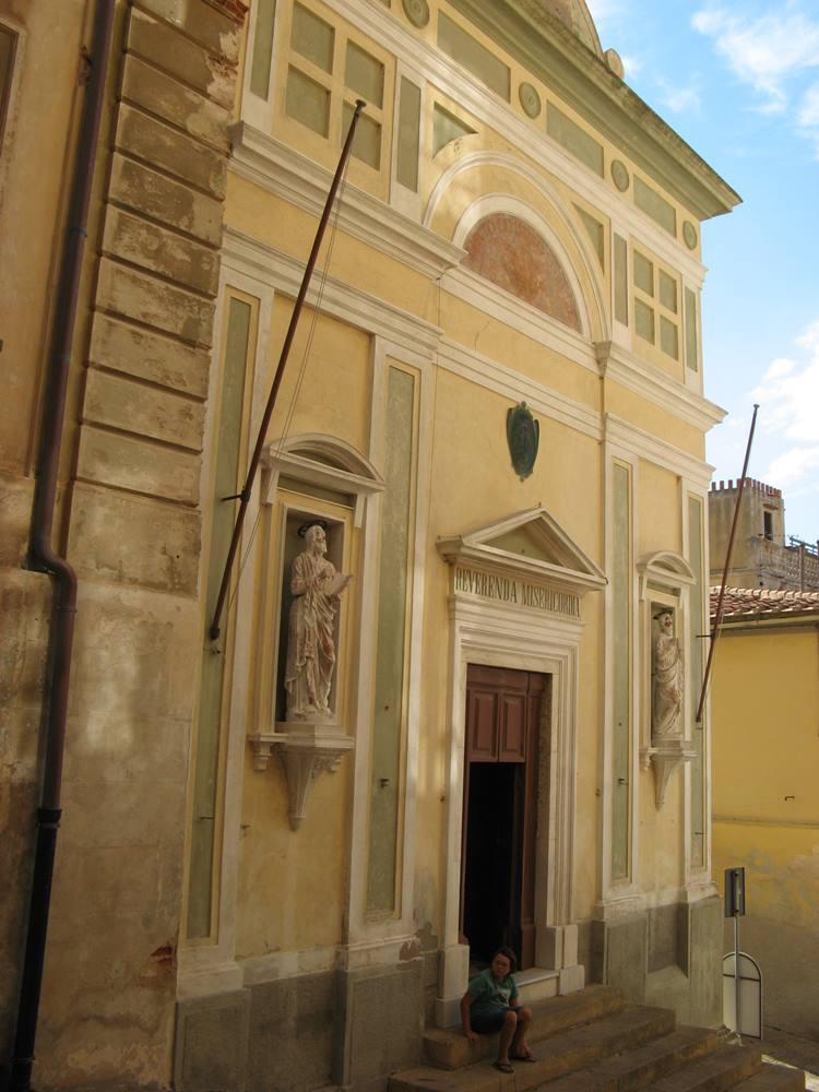 церковь мизерикордиа в Портоферрайо на Эльбе