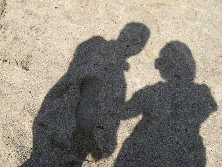 Тени на песке