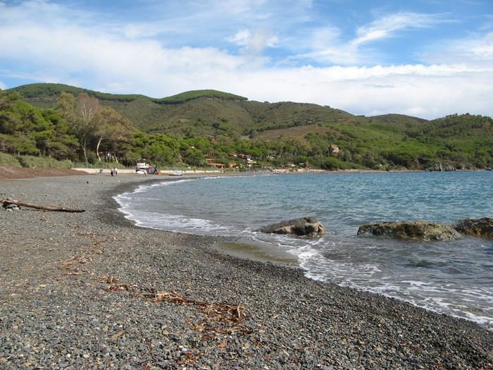 видна ширина пляжа Марджидоре