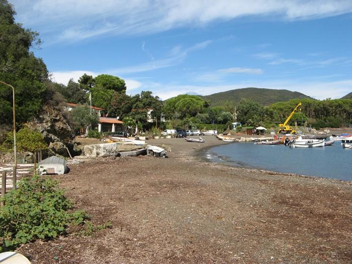 вид на пляж Марджидоре со стороны порта