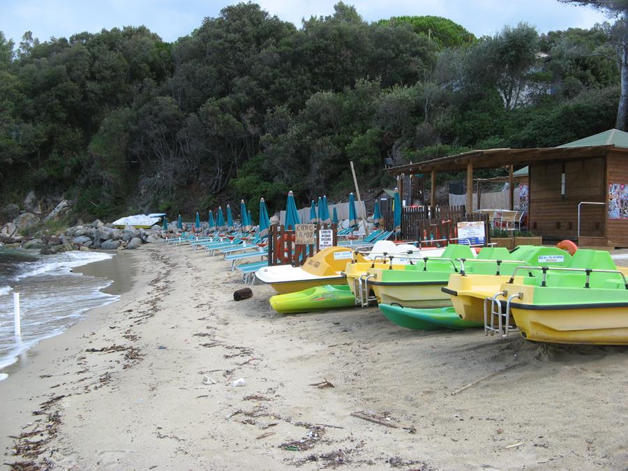 прокат на пляже Спартая