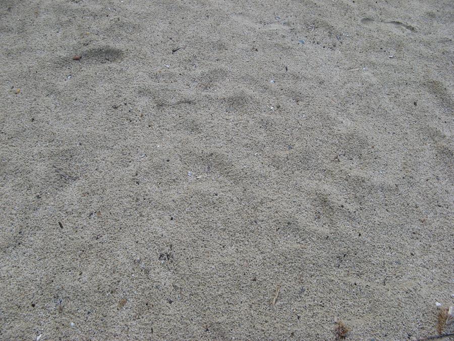 песок на пляже Спартая