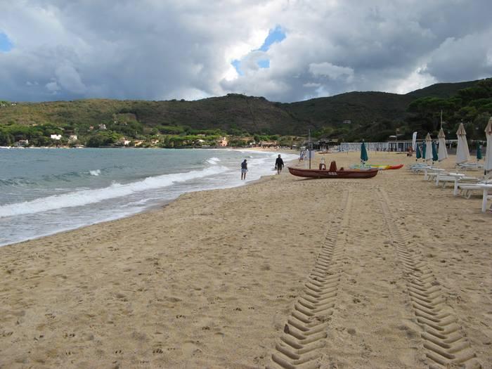пляж Проккьо на Эльбе