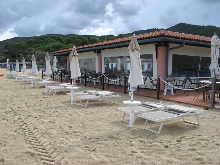 бар на пляже Проккьо