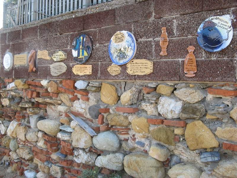 стена с подарками и пожеланиями Эмфоле