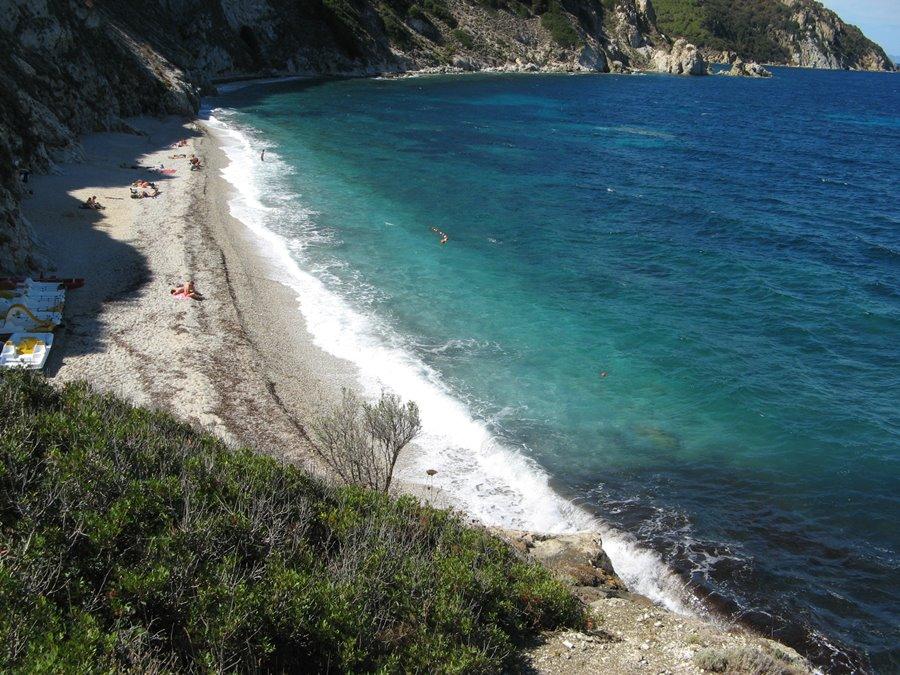пляж Сансоне на Эльбе