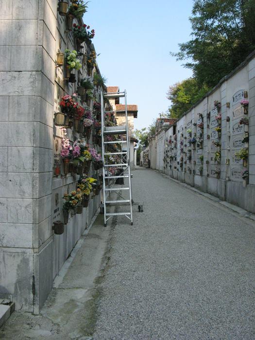 часть итальянского кладбища