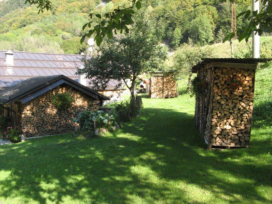 Как хранят дрова в Трентино