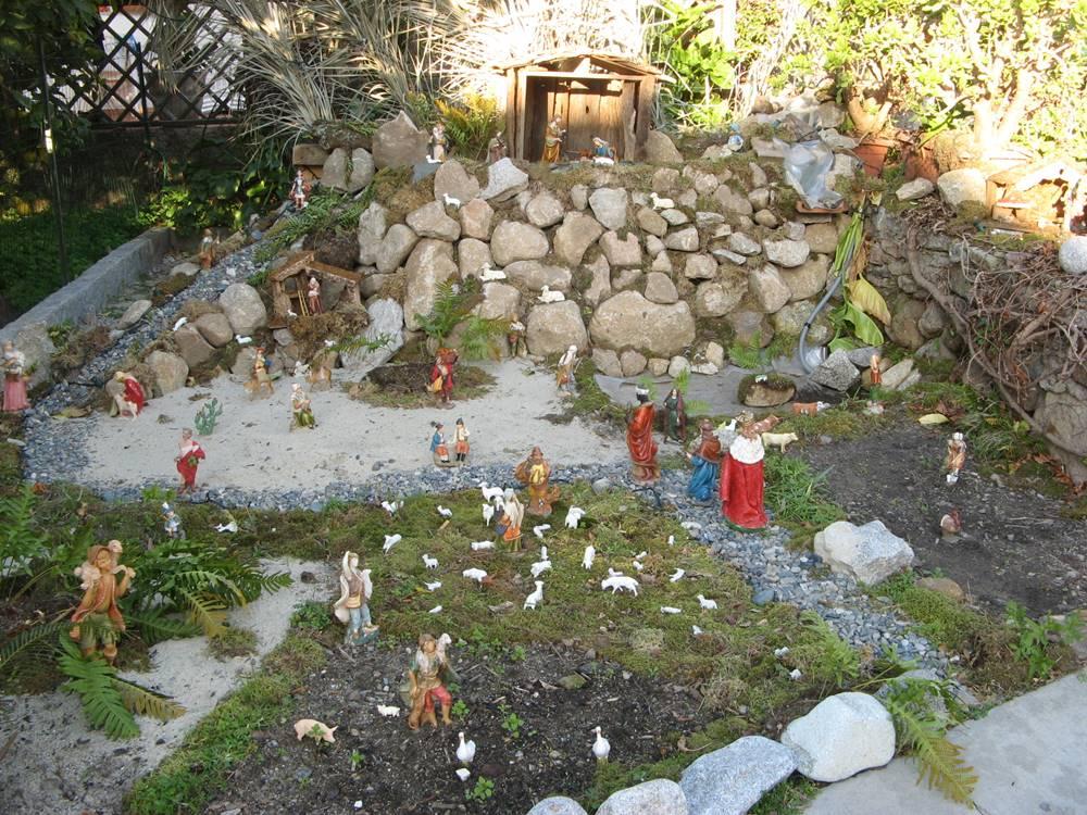 Рождественский вертеп в Помонте.