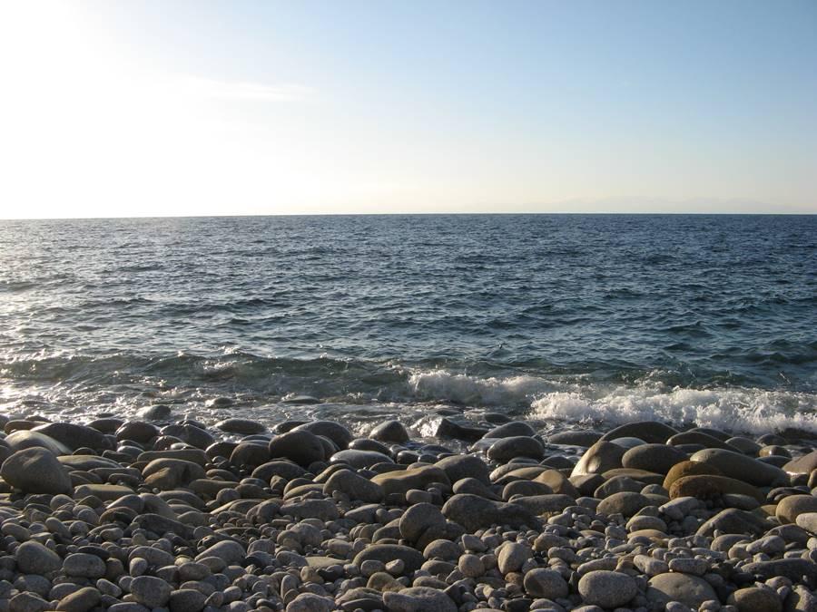 Море в районе Помонте