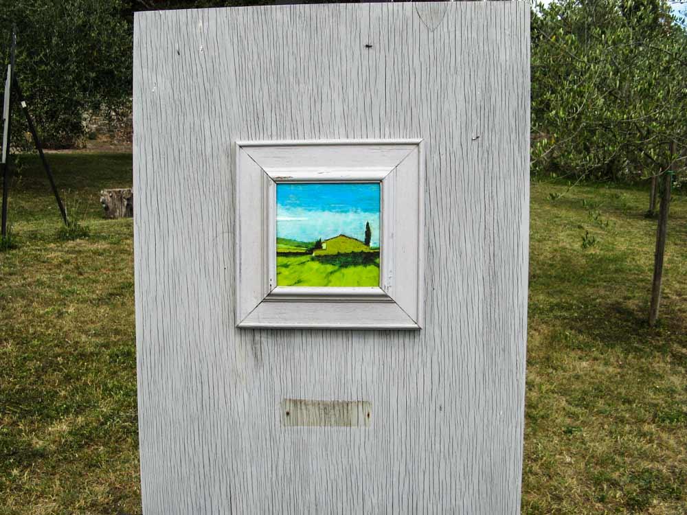 пейхаж на выставке