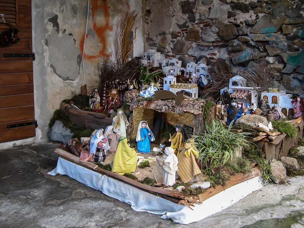 рождественскй вертеп в Марчана Марина