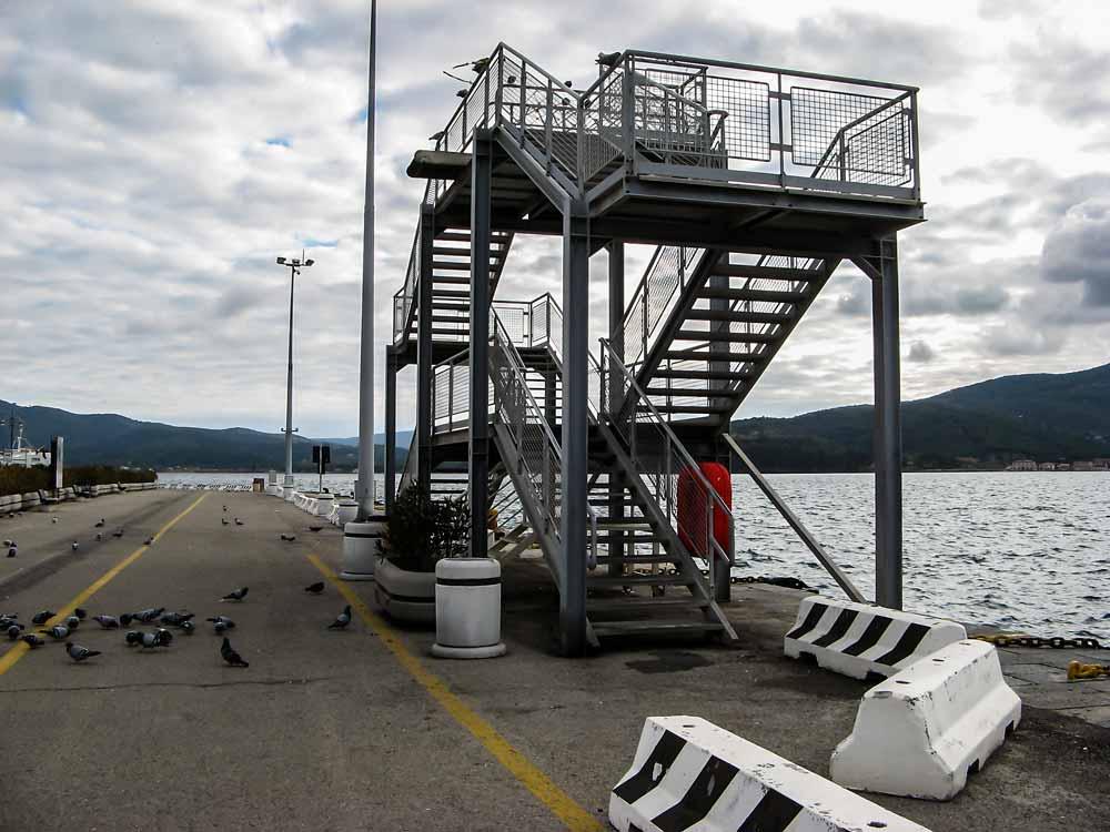 лестница для пассажиров на корабль