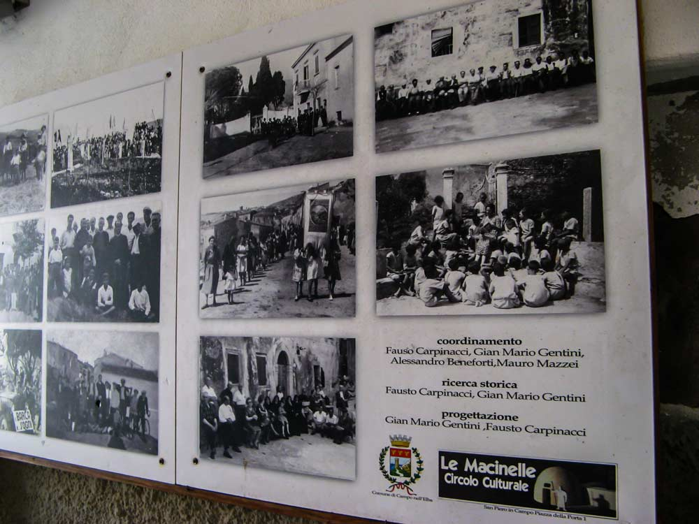 старые фото жителей Сан Пьеро