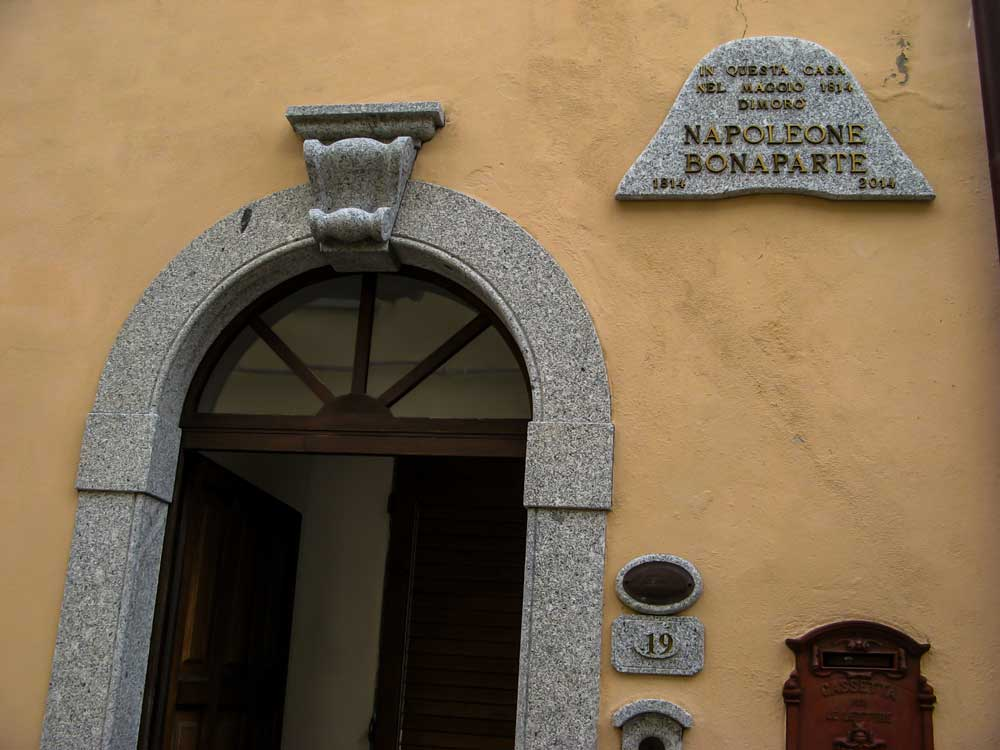 в этом доме останавливался Наполеон Бонапарт