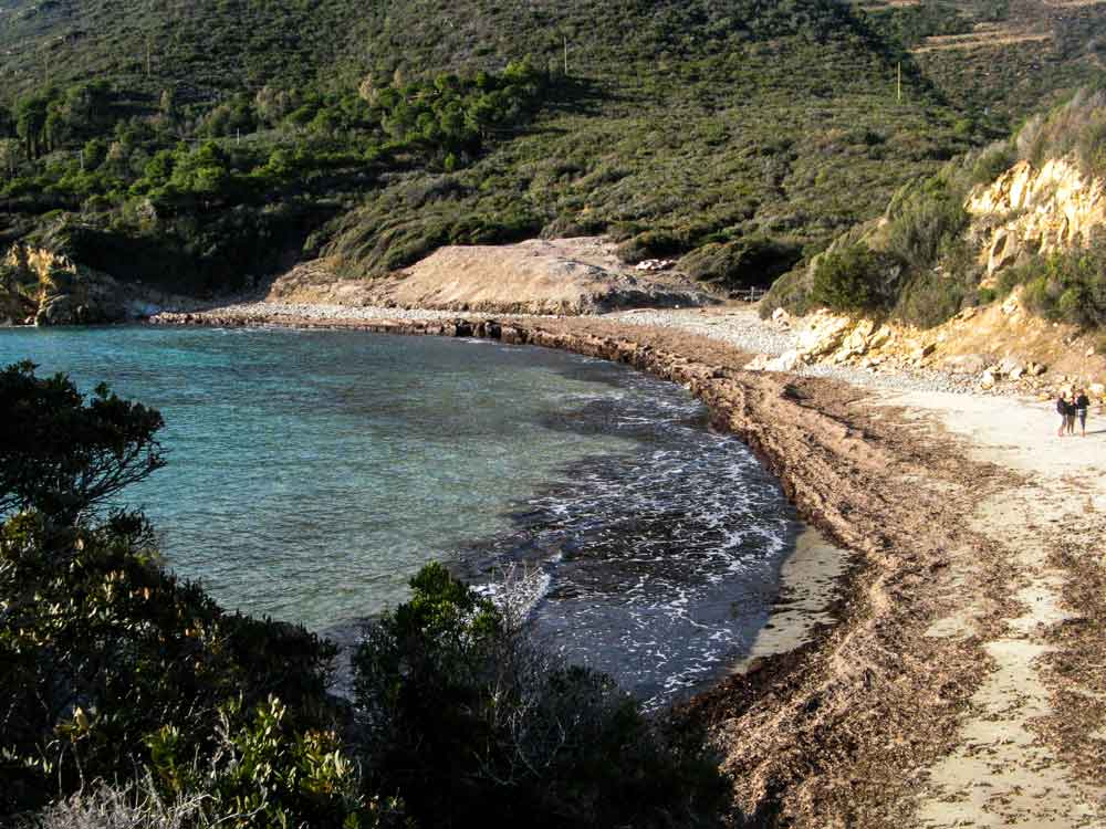 вид на пляж Лаконелла