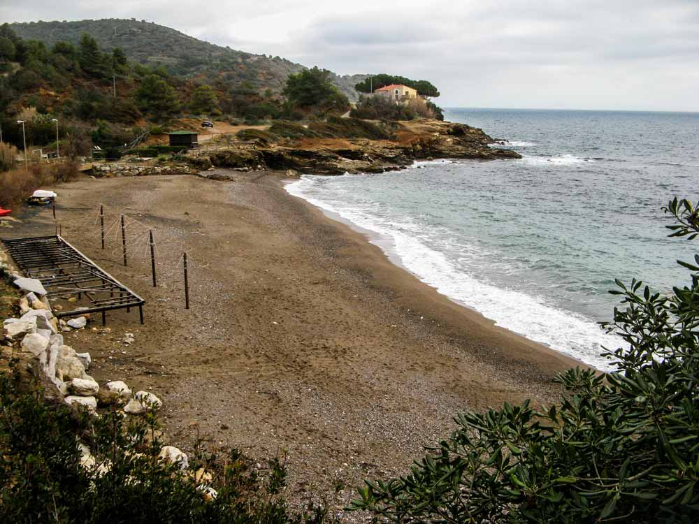 пляж Реале на острове Эльба Тоскана Италия
