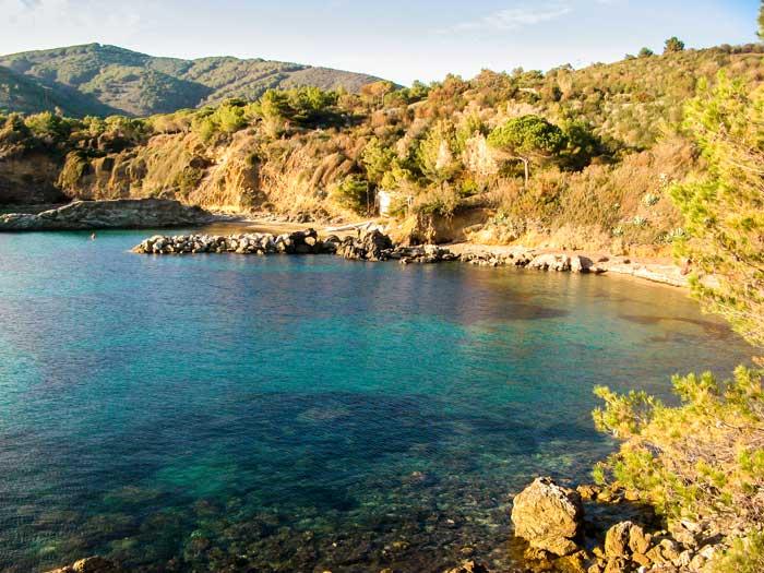 вид на пляж Фелчаё на эльбе