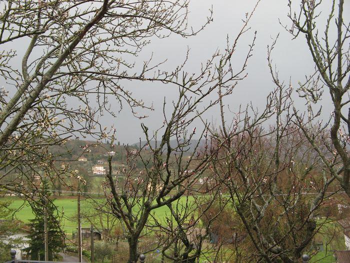 дождь серое небо в Ареццо