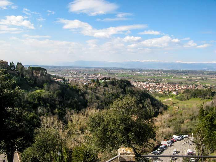 Вид с Сан Миниато на долину Арно