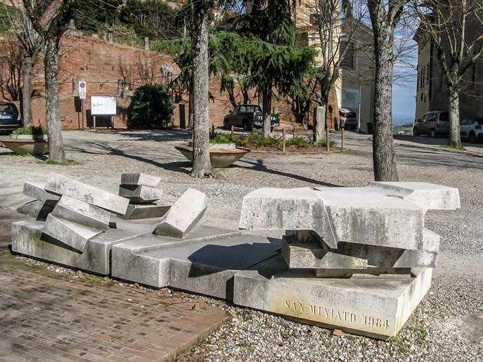 Сан Миниато: в память о расстрелянных, 1984 году
