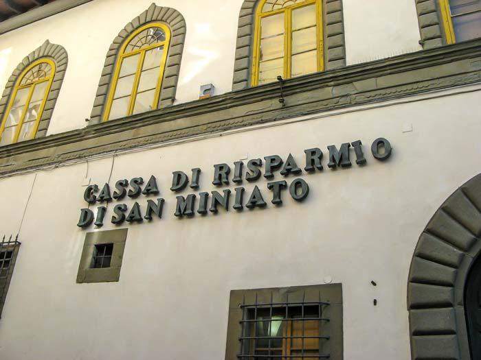 банки в Италии