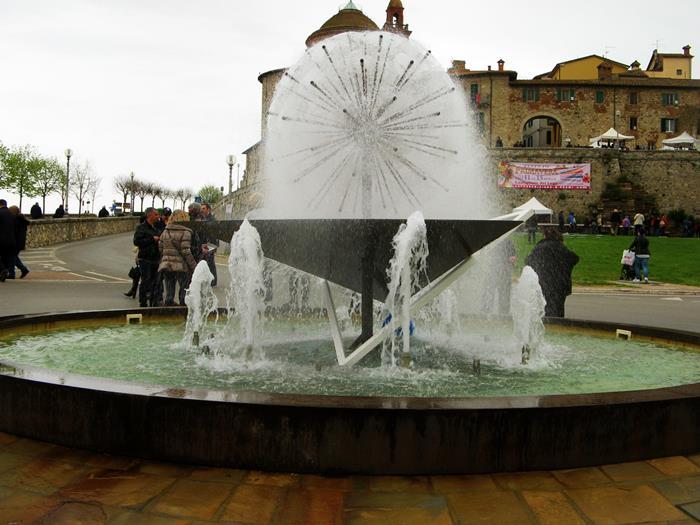 фонтан в Кастильон дель Лаго