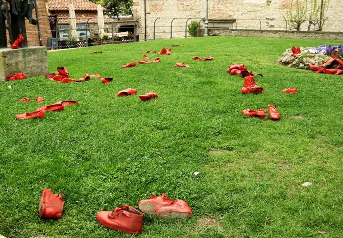 Кастильон дель Лаго - против насилия над женщинами