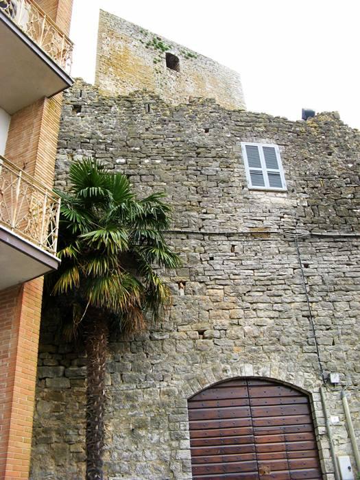остатки крепостной стены в Сан Савино