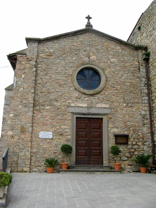 Сан Савино Умбрия - церковь посвящена епископу Сполето