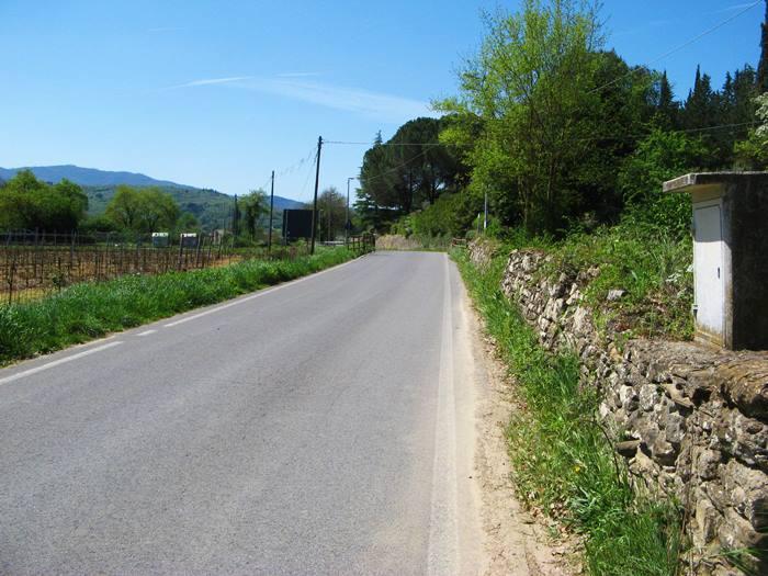 Тоскана весной - второстепенная дорога