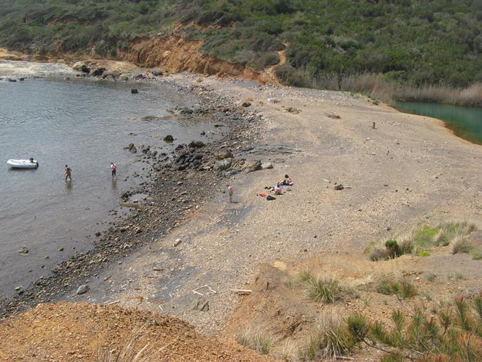 пляж Терранова на Эльбе в Италии