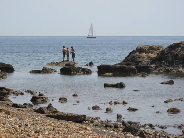 остров Эльба - отдых на пляже Терра Нера
