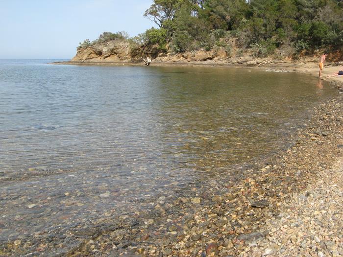 Чистое море на пляже Феррато