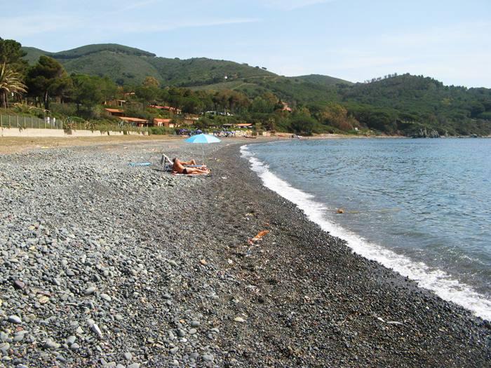 Эльба - апрель 2018 на пляже Марджидоре