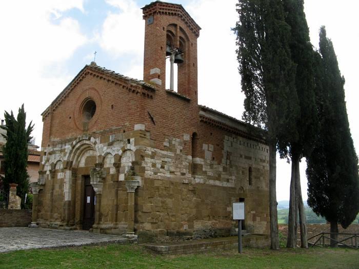 Сан Джовани д'Ассо - церковь Сан Пьетро в Виллере