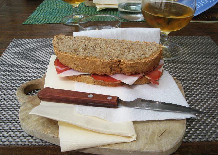 панини с интегральным хлебом