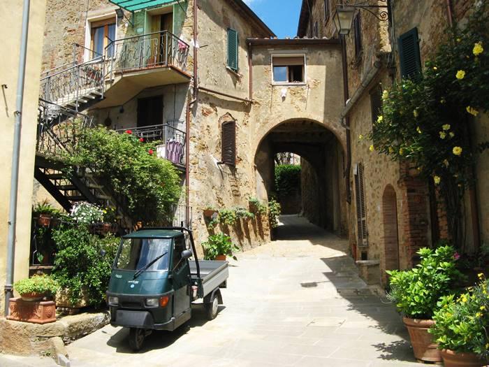 уголок в Кастельмуцио, Тоскана Италия