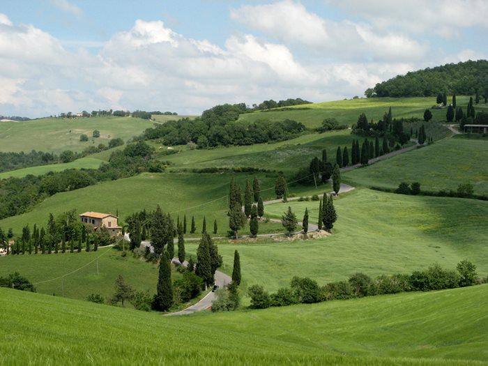 Монтиккьелло - весная в Тоскане