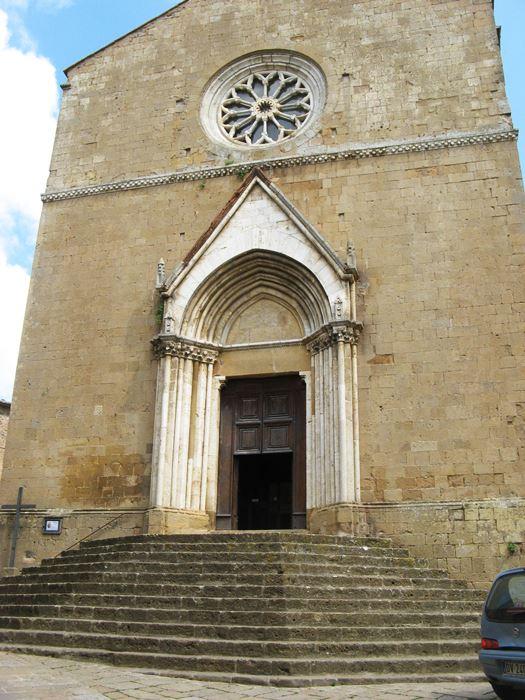 церковь в Монтиккьелло, Тоскана, Италия